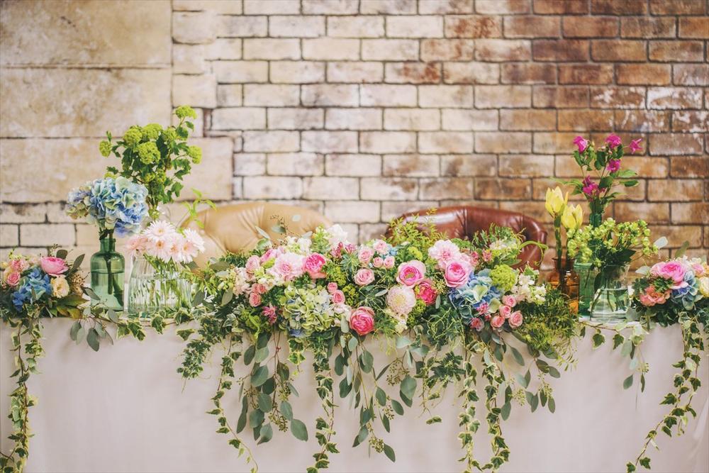 beek flowersの初夏の高砂装花