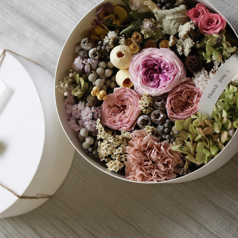 beek flowersのフラワーボックス