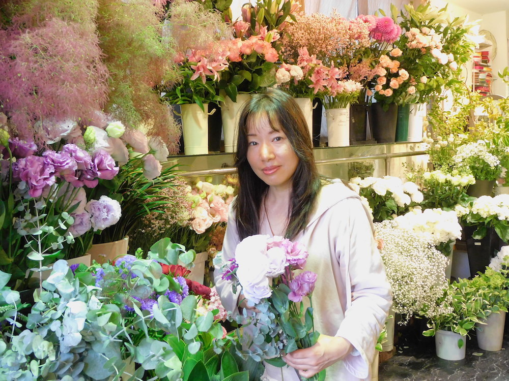 花屋「凜」代表の穂積 木綿子 (ほづみ ゆうこ)さん